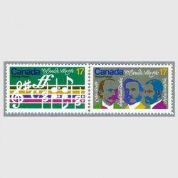 カナダ 1980年「O Canada」の譜面など2種