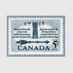 カナダ 1958年下院議長の椅子と杖