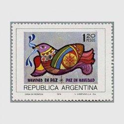 アルゼンチン 1974年ハト