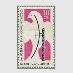 ブラジル 1967年通信省発足