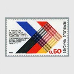 フランス 1973年仏独協定10年