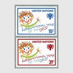 国連 1979年国際児童年2種