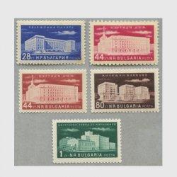 ブルガリア 1955-6年ビル5種※少難品