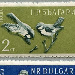 ブルガリア 1959年鳥6種