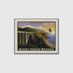 アメリカ 2010年普通切手ビクスビー橋