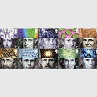 イギリス 2010年王立協会10種連刷