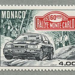モナコ 1992年第60回モンテカルロラリー