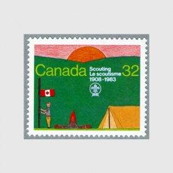 カナダ 1983年スカウト年