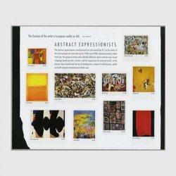 アメリカ 2010年抽象表現主義シート