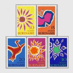 スリナム 1970年イースター5種