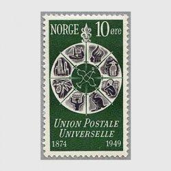 ノルウェー 1949年UPU75年
