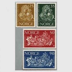 ノルウェー 1963年FAOキャンペーン4種