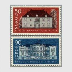 ノルウェー 1964年建国150年2種