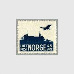ノルウェー 1941年Akershus城と飛行機