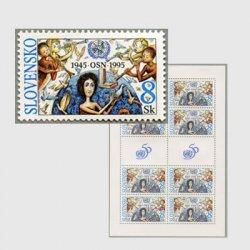 スロバキア 1995年国連50年