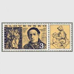 スロバキア 1996年切手の日タブ付き