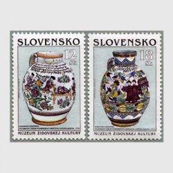 スロバキア 1999年ユダヤ文化博物館2種