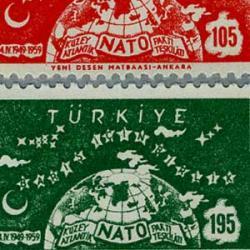 トルコ 1959年NATO10年2種