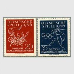東ドイツ 1956年メルボルンオリンピック2種