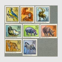 東ドイツ 1975年動物8種
