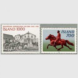 アイスランド 1982年アイスランドポニー2種
