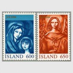 アイスランド 1984年クリスマス2種