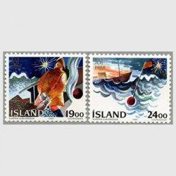 アイスランド 1988年クリスマス2種