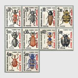 サンピエール・ミクロン 1982-83年昆虫10種