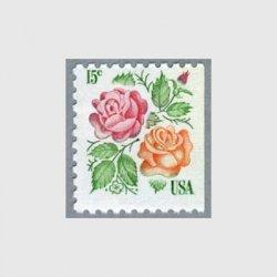 アメリカ 1978年切手帳単片バラ