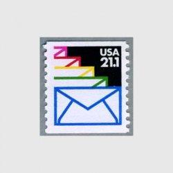 アメリカ 1985年封筒