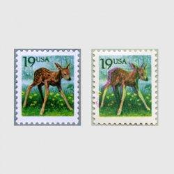アメリカ 1991年子鹿