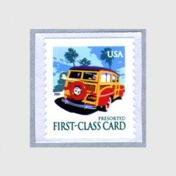 アメリカ 2001年コイル切手ワゴン車