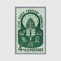アメリカ 1960年世界資源森林会議