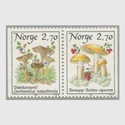 ノルウェー 1987年きのこ2種