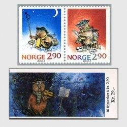 ノルウェー 1988年クリスマス2種