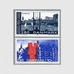 デンマーク 1986年Aalborgハーバーなど2種