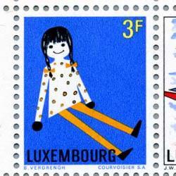 ルクセンブルグ 1969年青年国際切手展小型シート