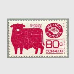 メキシコ 1981年牛肉の部位 薄紙