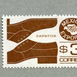 メキシコ 1981年紳士靴 薄紙
