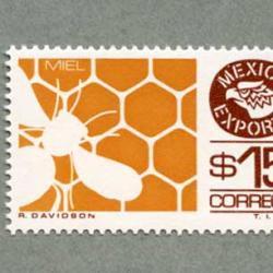 メキシコ 1984年ミツバチ$15