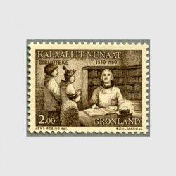 グリーンランド 1980年公立図書館150年