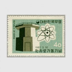 韓国 1962年原子炉稼働