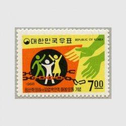 韓国 1968年民族解放