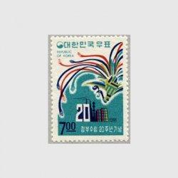 韓国 1968年政府樹立20年