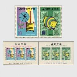 韓国 1970年'71年用年賀2種