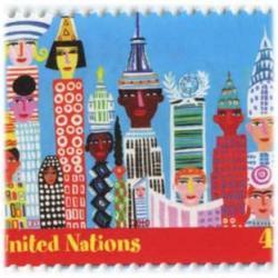 国連 2010年普通切手ニューヨーク2種