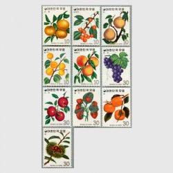 韓国 1974年果実10種