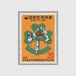 韓国 1976年ガールスカウト30年