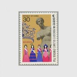 韓国 1980年ミスユニバース