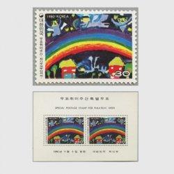 韓国 1980年切手趣味週間